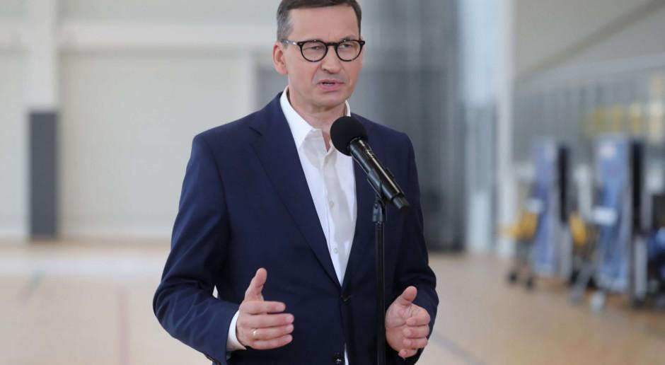 Morawiecki: Dotrzymywać słowa - to nasza podstawowa polityka