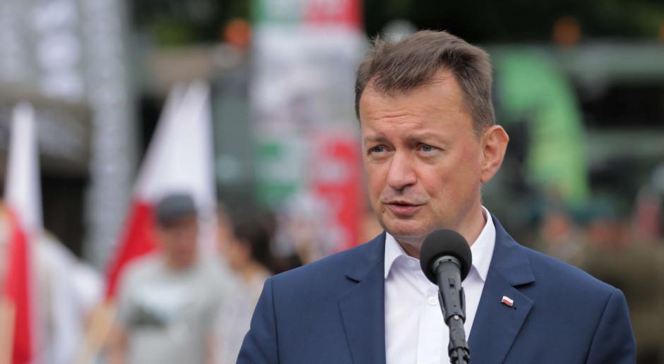 Błaszczak: Wprowadziliśmy zmiany w rekrutacji do Wojska Polskiego
