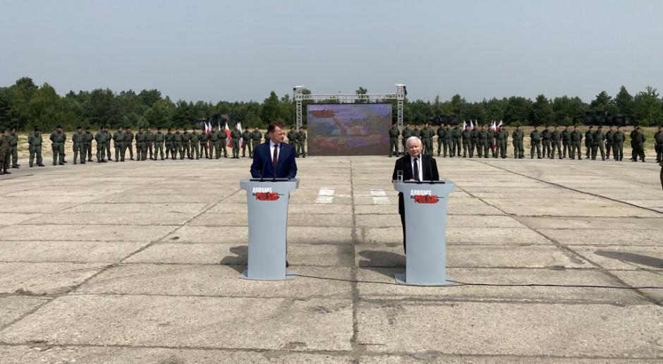 Kaczyński: Opracowujemy program rozbudowy Sił Zbrojnych