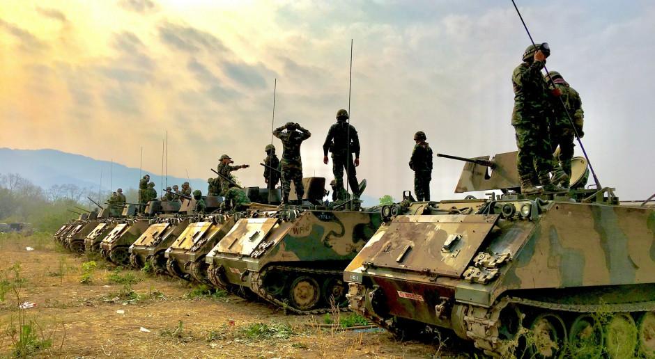 Trwa rotacja amerykańskiej brygady pancernej w Europie