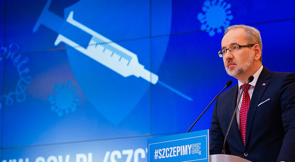Niedzielski: Szczepienia chronią bardzo skutecznie przed ciężkim przebiegiem COVID-19