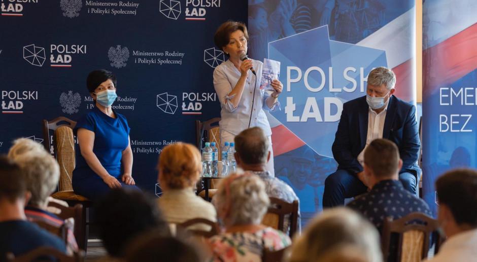 Maląg: W ramach Polskiego Ładu są programy, które pozwolą spełniać marzenia Polaków