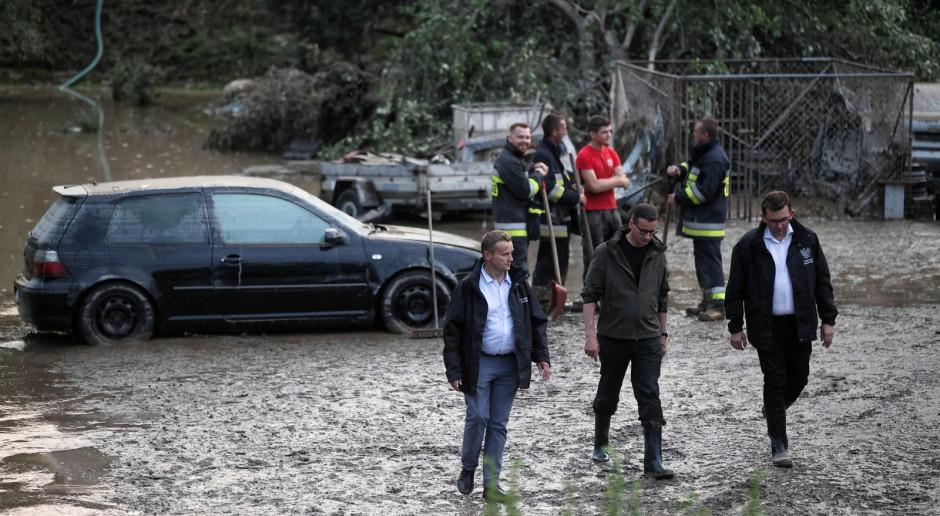 Małopolski Urząd Wojewódzki: Odbyło się posiedzenie sztabu kryzysowego z udziałem premiera