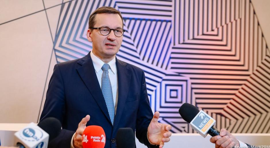 Premier Morawiecki: nie ma żadnego ryzyka polexitu