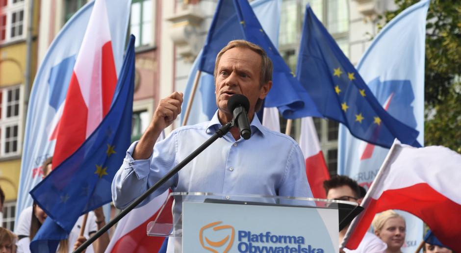 Donald Tusk: Panie Kaczyński wyjdź z tej swojej jaskini