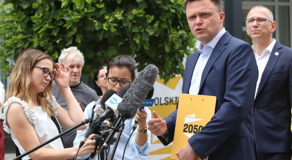 Szymon Hołownia: nie ma powrotu do Polski z 2015 roku