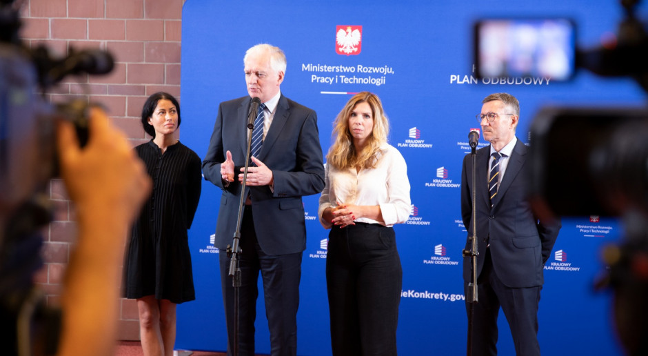 Gowin: popieram zasady Polskiego Ładu, ale jest różnica zdań ws. podatkowych