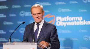 Tusk zapowiada parytety we władzach PO