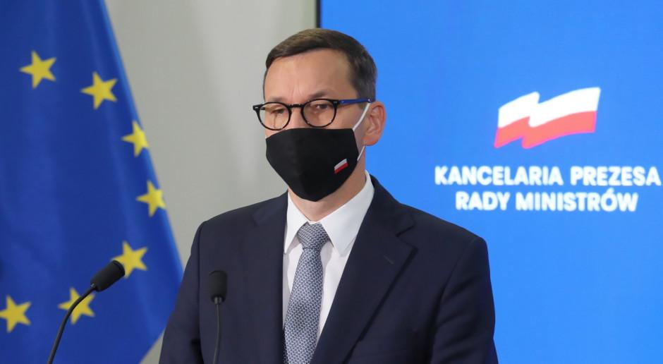 Kwestie bezpieczeństwa energetycznego Europy - jednym z tematów rozmowy Morawieckiego z Laschetem