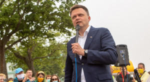 Jedna lista wyborcza opozycji? Hołownia: nie ma powrotu do Polski PO