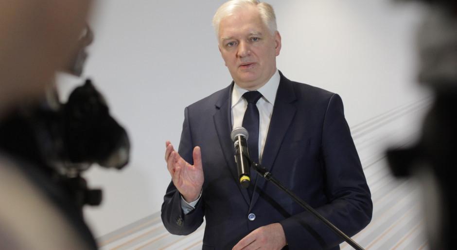 Jarosław Gowin: Zjednoczona Prawica nie rozbije się o jedno, czy drugie stanowisko