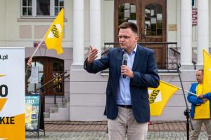 Szymon Hołownia o koalicji wyborczej: Nie można wykluczyć żadnej opcji