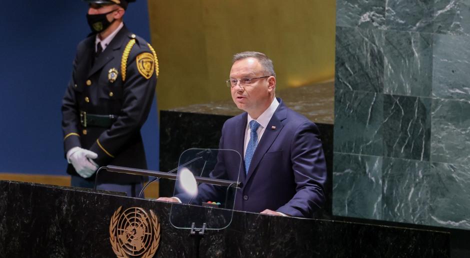 Prezydent: Mamy obowiązek strzec granicy Unii Europejskiej przed nielegalną migracją