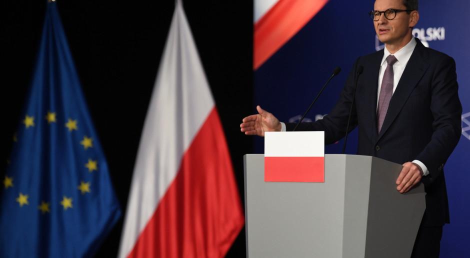 Premier: Miejsce Polski jest w UE, co nie oznacza, że nie będziemy walczyć o równe prawa