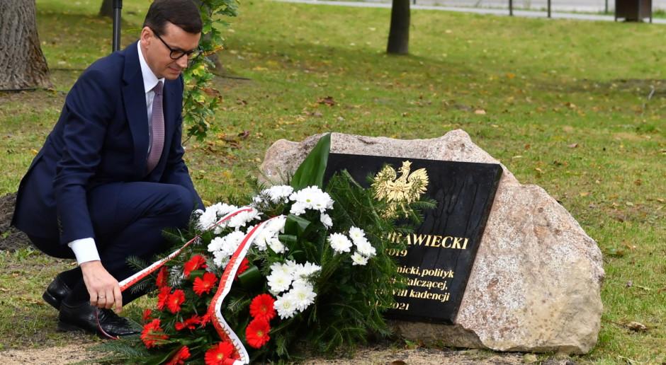 Premier oddał hołd Polakom, którzy kontynuowali polską państwowość w warunkach konspiracji