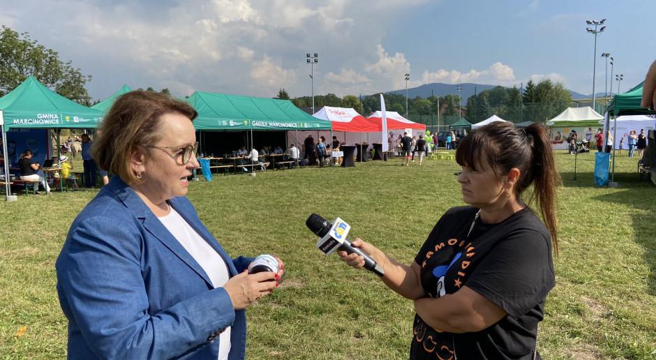 Zalewska: Nie chcemy zamknięcia kopalni Turów, to jest ważne dla mieszkańców i Czech i Polski