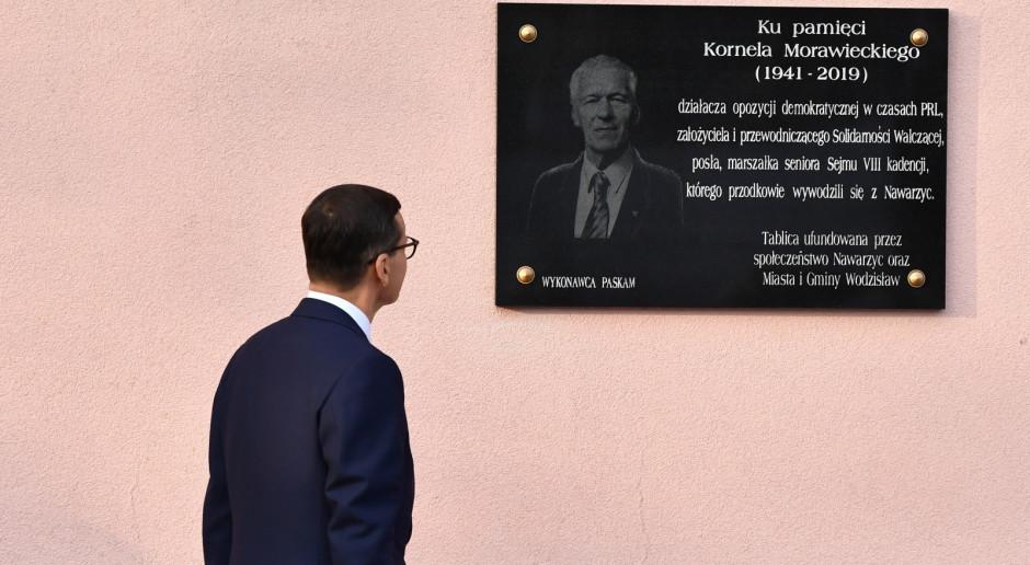 Premier: Mój ojciec był marzycielem i realistą jednocześnie