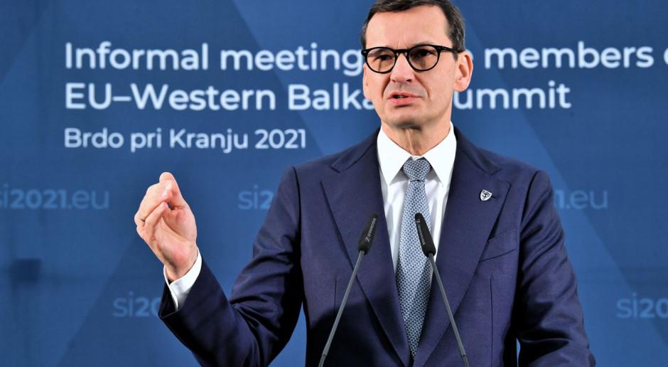 Morawiecki o sytuacji na granicy z Białorusią: mamy poparcie wszystkich krajów UE