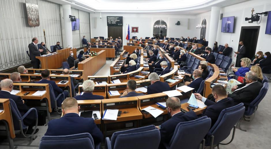 Senat uzupełnił porządek obrad o nowelę ustawy budżetowej na 2021 r.