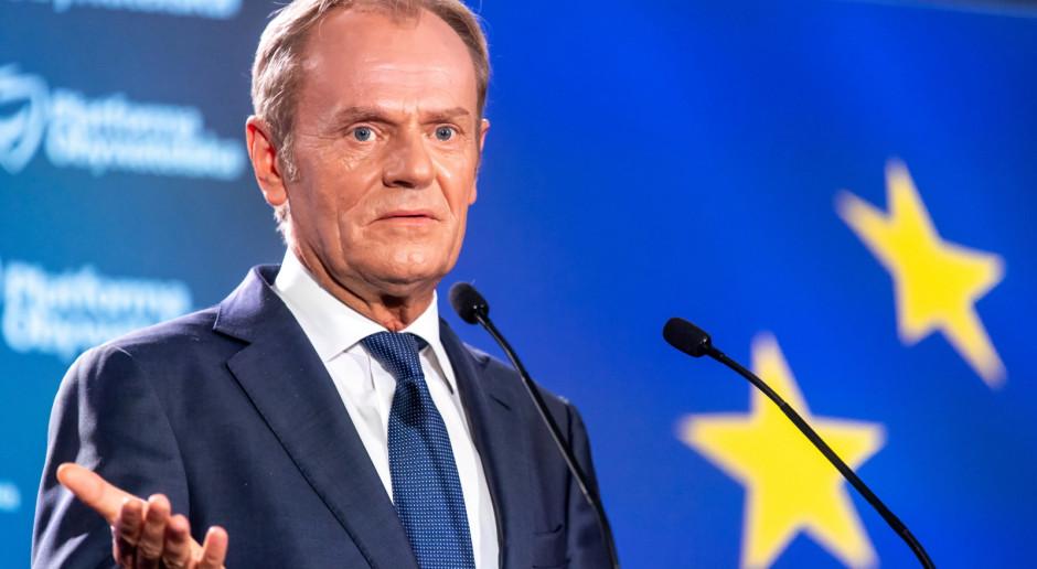Tusk: oferuję Platformie silne przywództwo