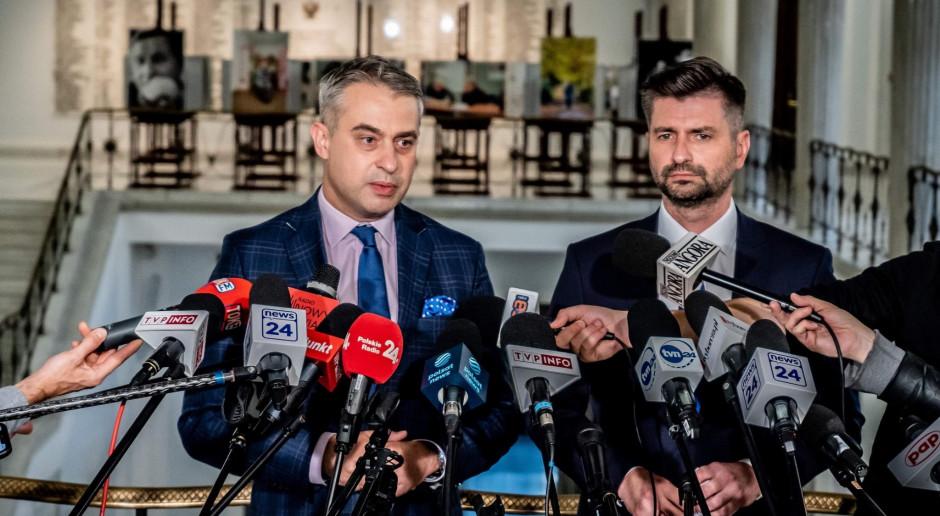 W sobotę kongres Nowej Lewicy wybierze współprzewodniczących partii; kandydatami Czarzasty i Biedroń