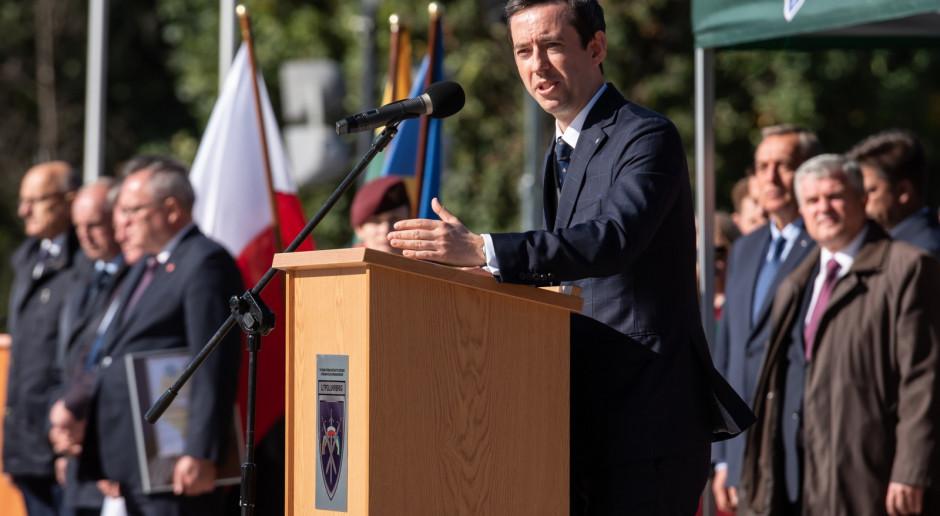 Wiceszef MON: W sprawie sytuacji na granicy z Białorusią: Jesteśmy cały czas w kontakcie z NATO