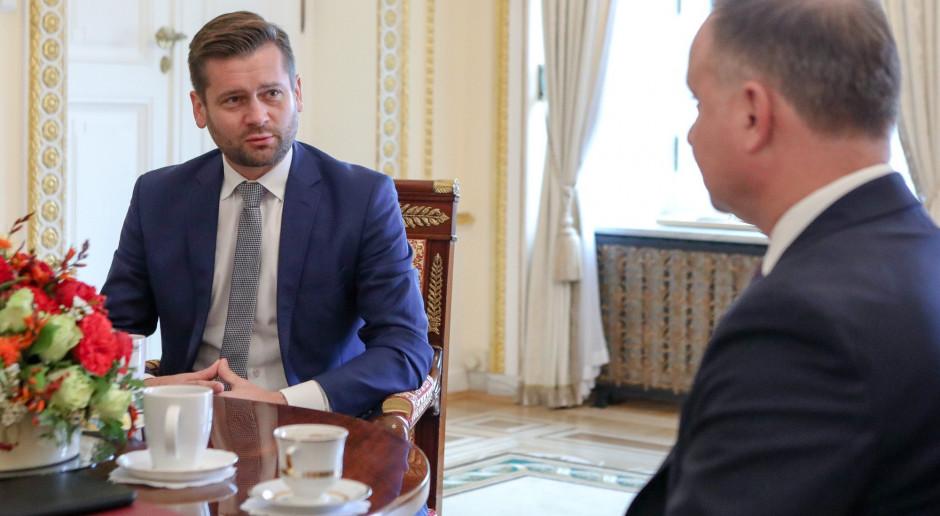 Kamil Bortniczuk zostanie ministrem sportu, Łukasz Mejza - wiceministrem.