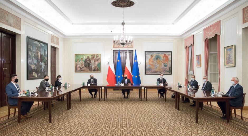 Prezydent spotkał się z liderami stowarzyszenia OdNowa RP